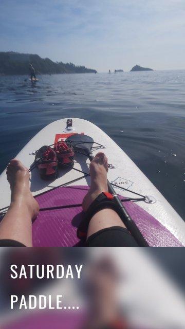 Saturday paddle....