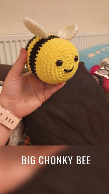 Big chonky bee