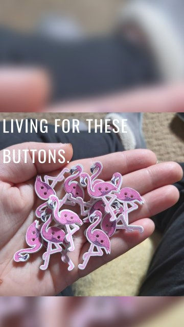 Living for these buttons.